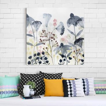 Product picture Canvas Art - Wildflower Watercolor I -...