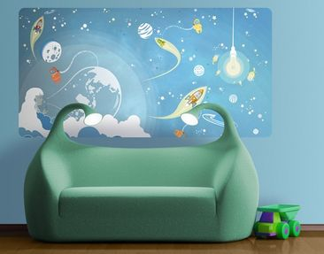 Product picture Wall Mural no.MW16 Colorful Space Ado