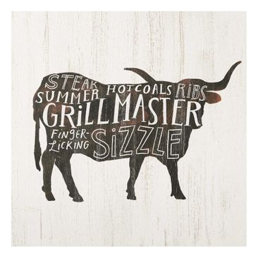 Product picture Print on Glass - Farm BBQ - Beef - Glass...