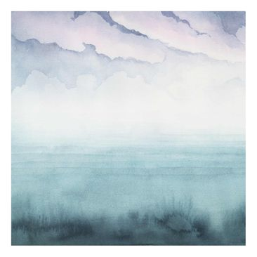 Product picture Print on Glass - Dusk On The Bay I -...