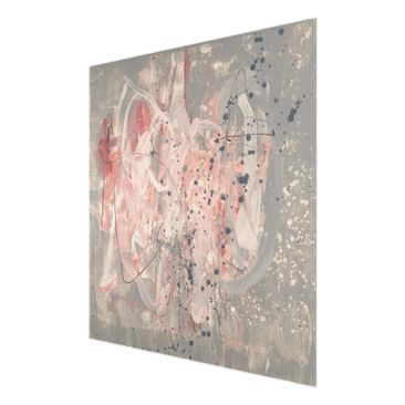 Product picture Print on Glass - Blush II - Glass Wall...