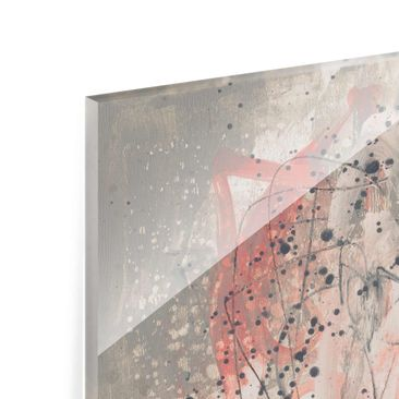 Product picture Print on Glass - Blush I - Glass Wall...