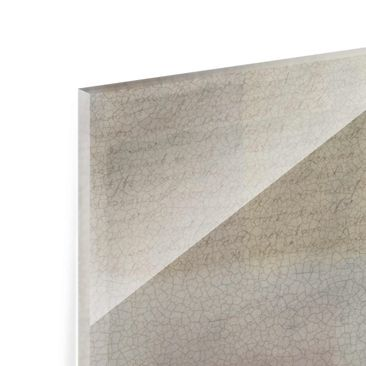 Product picture Print on Glass - Muted Shades I - Glass...