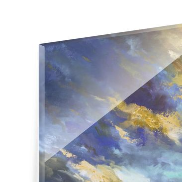Product picture Print on Glass - Sky Over Coast - Glass...