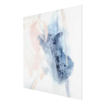 Product picture Print on Glass - Indigo & Rouge II -...