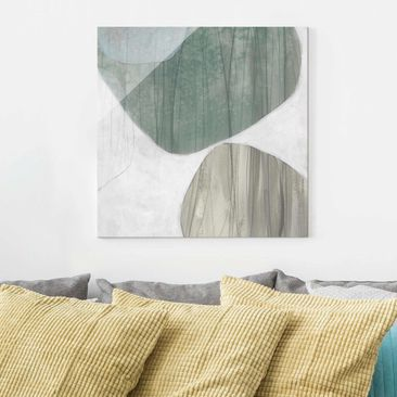 Product picture Print on Glass - Jade II - Glass Wall...