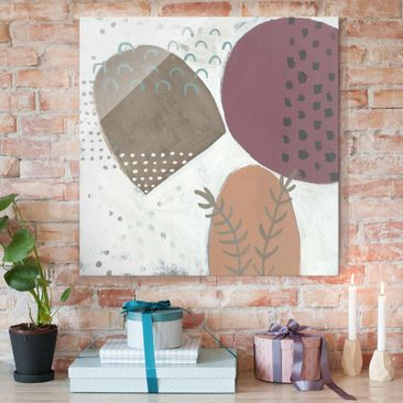 Product picture Print on Glass - Carnival Of Shapes In...