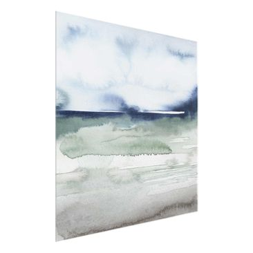 Product picture Print on Glass - Ocean Waves I - Glass...