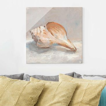 Product picture Print on Glass - Shell Study III - Glass...
