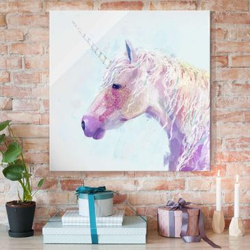 Product picture Print on Glass - Mystic Unicorn II -...