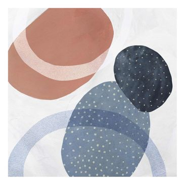 Product picture Print on Glass - Orbit With Points II -...