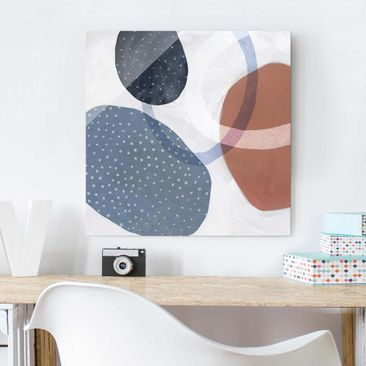 Product picture Print on Glass - Orbit With Points I -...