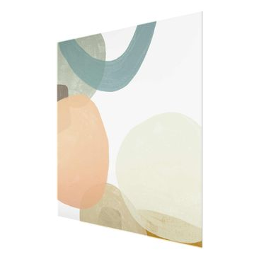 Product picture Print on Glass - Sequins In Detail II -...
