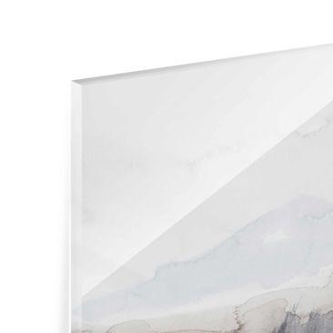 Product picture Print on Glass - Lakeside With Mountains...