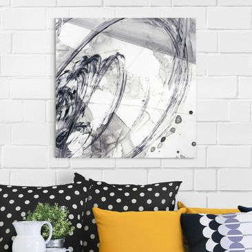 Product picture Print on Glass - Sonar Black And White I...