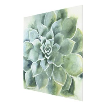 Product picture Print on Glass - Succulent Watercolor...