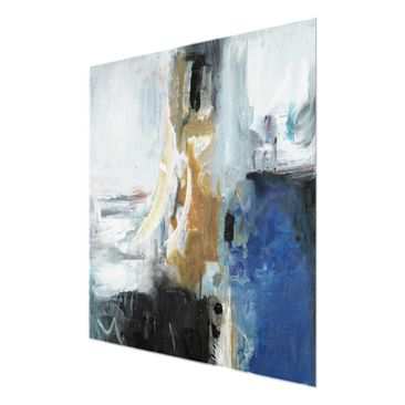 Product picture Print on Glass - Interplay Abstract I -...
