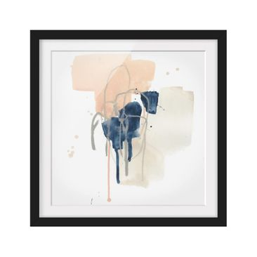 Product picture Framed print - Azurite II - Square...