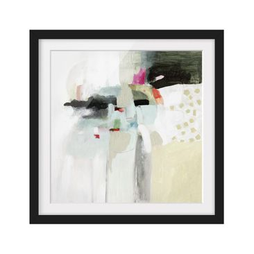 Product picture Framed print - Colorful Waterfalls II -...