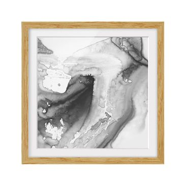 Product picture Framed print - Dust And Water I - Square...