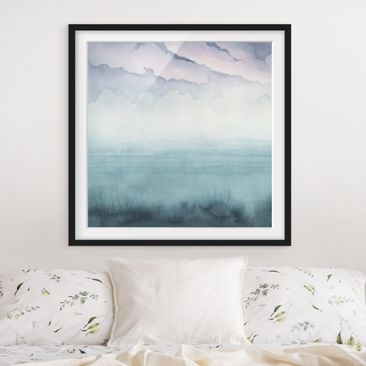Product picture Framed print - Dusk On The Bay I -...