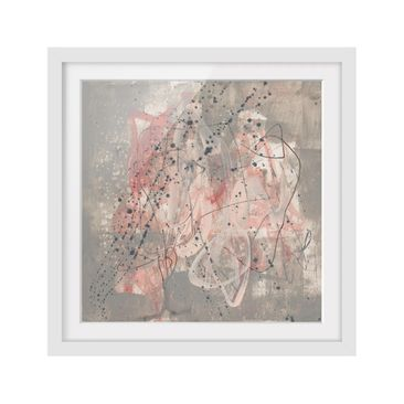 Product picture Framed print - Blush I - Square Format...