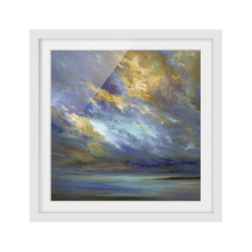 Product picture Framed print - Sky Over Coast - Square...