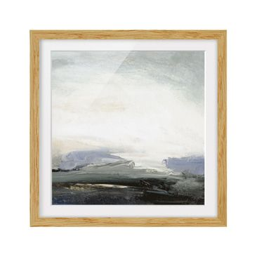 Product picture Framed print - Horizon At Dawn - Square...