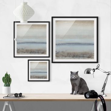 Product picture Framed print - Horizon Over Blue I -...