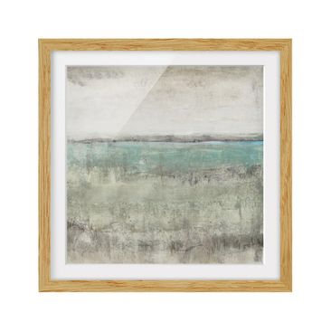 Product picture Framed print - Horizon Over Turquoise I...