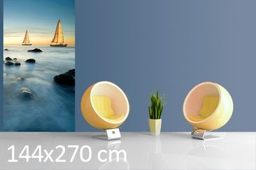 Product picture Photo Wall Mural Sailors At The Ocean