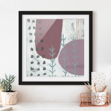 Produktfoto Framed print - Carnival Of Shapes In...