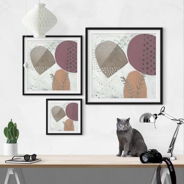 Product picture Framed print - Carnival Of Shapes In...