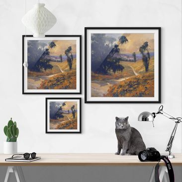 Product picture Framed print - Landscape Afternoon II -...
