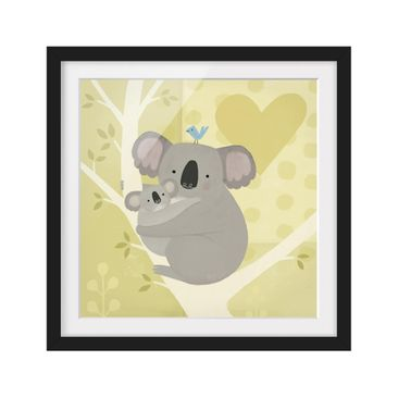 Product picture Framed print - Mum And I - Koalas -...