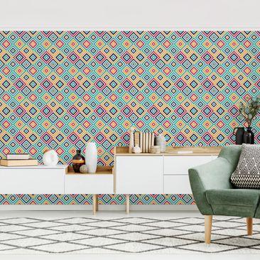 Produktfoto Tapete selbstklebend - Geometrie zum Quadrat - Fototapete Querformat