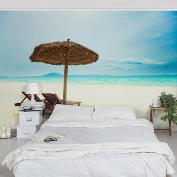 Produktfoto Tapete selbstklebend - Beach of Dreams - Fototapete Querformat