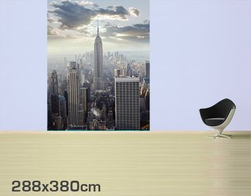 Product picture Photo Wall Mural Sunrise In New York