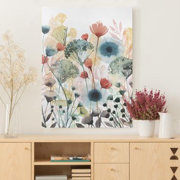 Product picture Canvas Art - Wild Flowers In Summer I -...