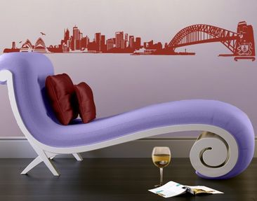 Produktfoto Wall Decal no.FB49 Sydney Skyline
