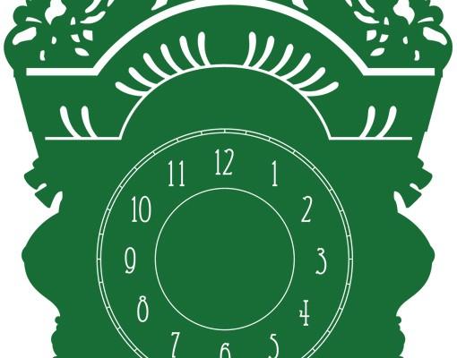 Produktfoto Wandtattoo Uhr No.AC39 Standuhr