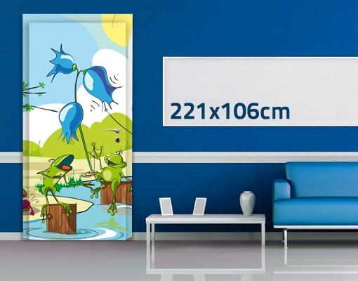 Produktfoto TürTapete No.NL1 Tierkonzert