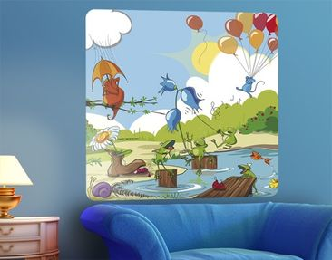 Product picture Wall Mural no.NL1 Concert Of Animals