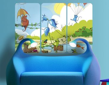 Product picture Wall Mural no.NL1 Concert Of Animals...
