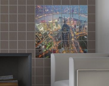 Product picture Tile Mural Shanghai