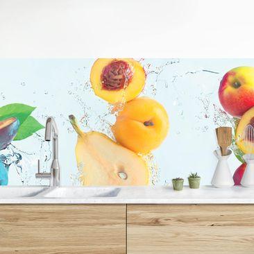 Produktfoto Küchenrückwand - Fruchtsalat vergrößerte Ansicht in Wohnambiente Artikelnummer 235671-XWA
