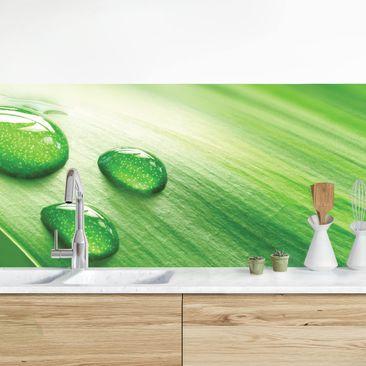 Immagine del prodotto Rivestimento cucina - Foglia Di Banana Con Gocce