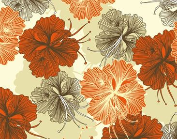 Product picture Tile Mural Enchanting Hibiscus