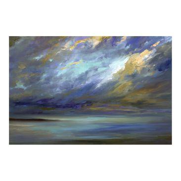 Produktfoto Fototapete - Himmel über Küste - Fototapete Breit