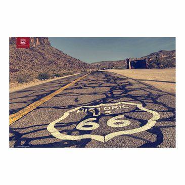 Produktfoto Fototapete Premium - Route 66 - Historisch - Fototapete Breit